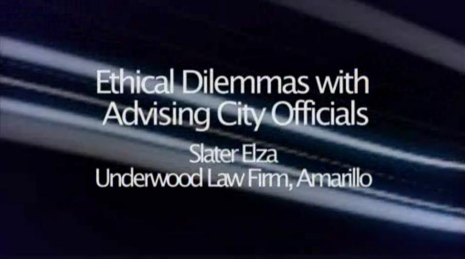 Etical Dilemmas